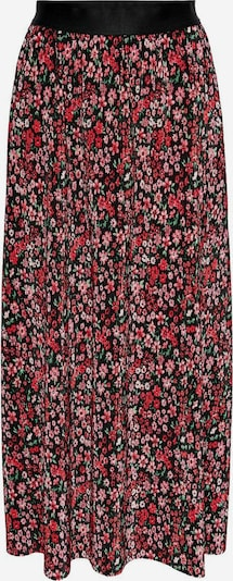 ONLY Rock 'Lena' in grün / rosa / rot / schwarz, Produktansicht
