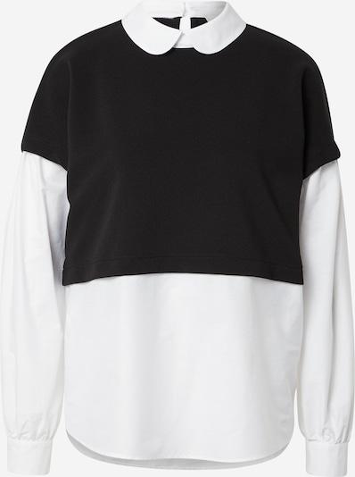 JDY Shirt 'SHAMY' in de kleur Zwart / Wit, Productweergave