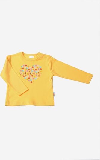 LILIPUT Niedliches Langarmshirt mit 'Ahoy' in gelb, Produktansicht