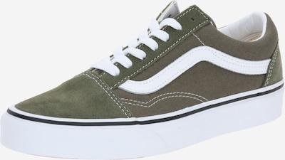 VANS Sneakers laag 'Old Skool' in de kleur Kaki / Wit, Productweergave