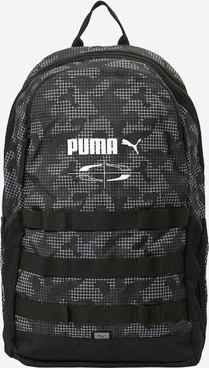 PUMA Športový batoh - čierna / biela, Produkt
