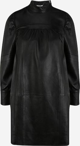 OBJECT Petite Shirt Dress 'Chris' in Black