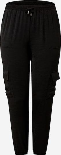 Pantaloni cu buzunare 'CAJOY' Zizzi pe negru, Vizualizare produs