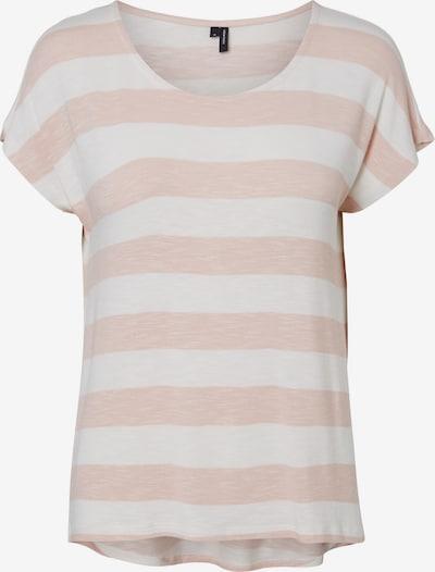 VERO MODA Shirt 'Wide' in de kleur Rosa / Wit, Productweergave