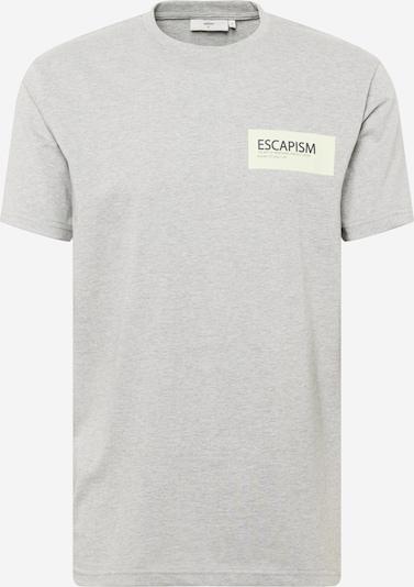 minimum T-Shirt 'Agur 9013' in hellgrau / weiß, Produktansicht