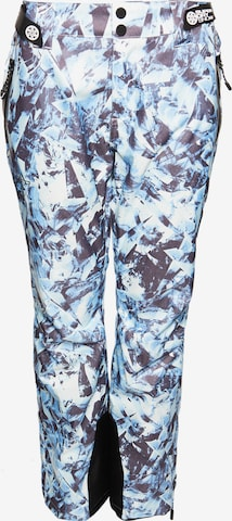 Superdry Snow Skihose 'Luxe' in Blau