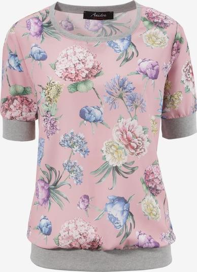 Aniston CASUAL Shirtbluse in graumeliert / mischfarben / rosa, Produktansicht
