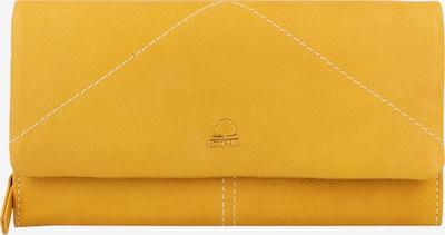 GREENBURRY Geldbörse 'Tumble Nappa' in gelb, Produktansicht