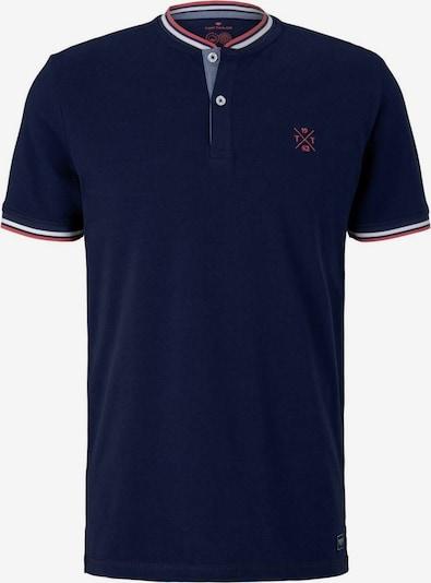 TOM TAILOR Camiseta en azul oscuro / rojo / blanco, Vista del producto