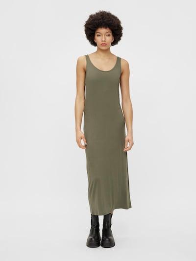 PIECES Summer Dress 'Kalli' in Khaki, View model