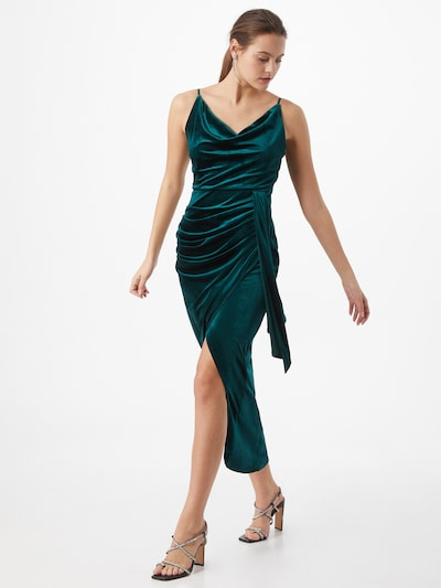 TFNC Společenské šaty - tmavě zelená, Model/ka