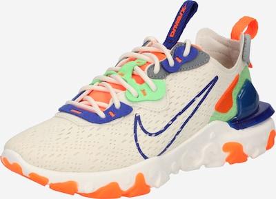 Sneaker low 'React Vision' Nike Sportswear pe crem / albastru / mentă / portocaliu neon, Vizualizare produs