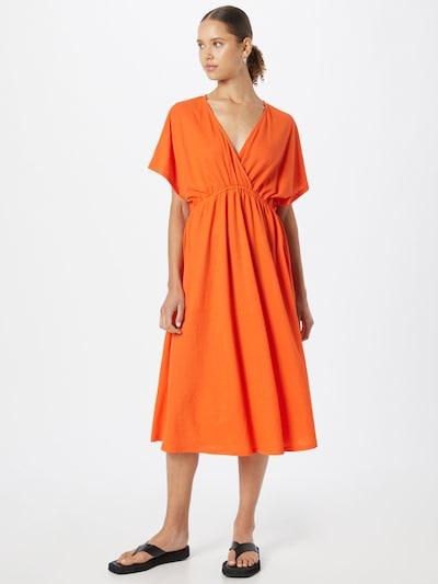 Gina Tricot Dress 'Madison' in Orange, View model