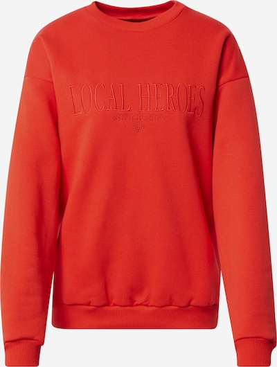 LOCAL HEROES Sweatshirt in rot, Produktansicht