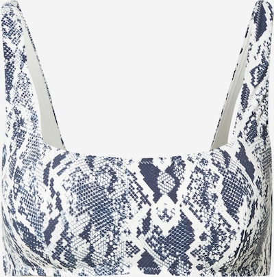 Sutien costum de baie 'HEATHER' ETAM pe bleumarin / alb, Vizualizare produs
