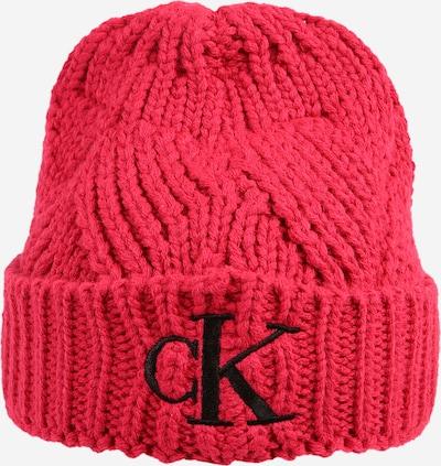 Calvin Klein Jeans Mütze 'FANTASY' in himbeer, Produktansicht
