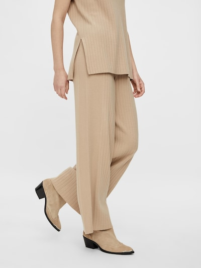 Y.A.S Hose 'Nyra' in cappuccino, Modelansicht