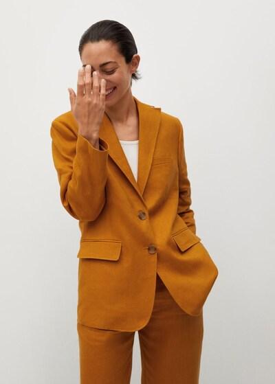MANGO Blazer in orangerot, Modelansicht