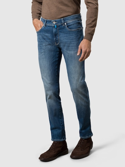 PIERRE CARDIN Jeans  'Lyon' in blau, Modelansicht