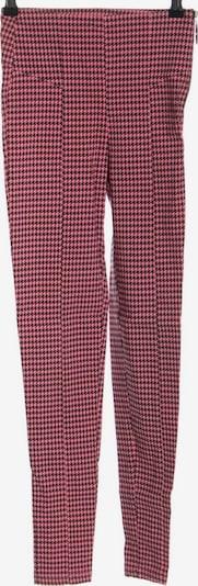 Bershka Stretchhose in XS in pink / schwarz, Produktansicht