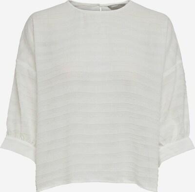 ONLY T-shirt en blanc, Vue avec produit