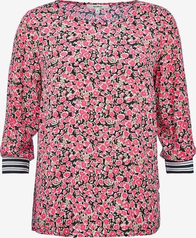 GARCIA Bluse in pastellgrün / pink / schwarz, Produktansicht
