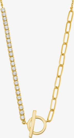 s.Oliver Kette in gold / transparent, Produktansicht