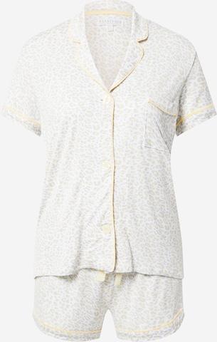 Pigiama 'Style-O-Matic' di PJ Salvage in bianco