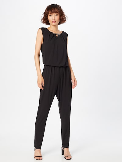 APART Jumpsuit in schwarz: Frontalansicht