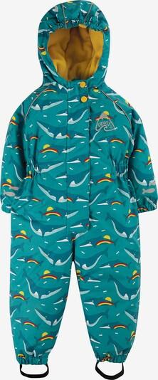 frugi Regenanzug in blau / mischfarben, Produktansicht