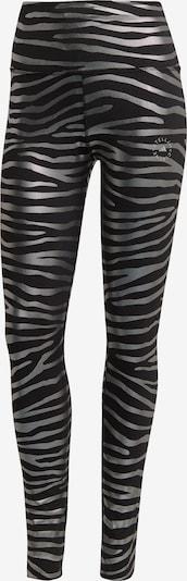 adidas by Stella McCartney Παντελόνι φόρμας σε μαύρο / ασημί, Άποψη προϊόντος