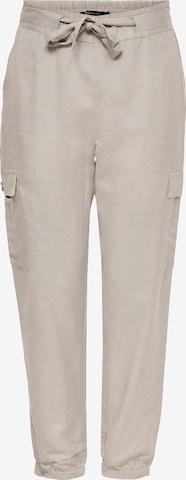 Pantalon cargo 'Viva' ONLY en gris