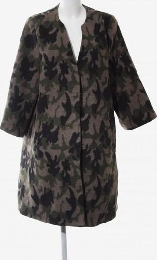 UNBEKANNT Wintermantel in L in braun / khaki / schwarz, Produktansicht