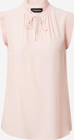TAIFUN Blouse in Roze