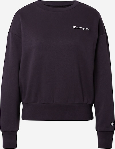 Champion Authentic Athletic Apparel Sweatshirt in Black / White, Item view