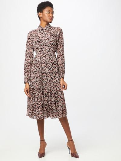 MICHAEL Michael Kors Kleid 'DAINTY' in hellpink / weinrot / schwarz / weiß, Modelansicht