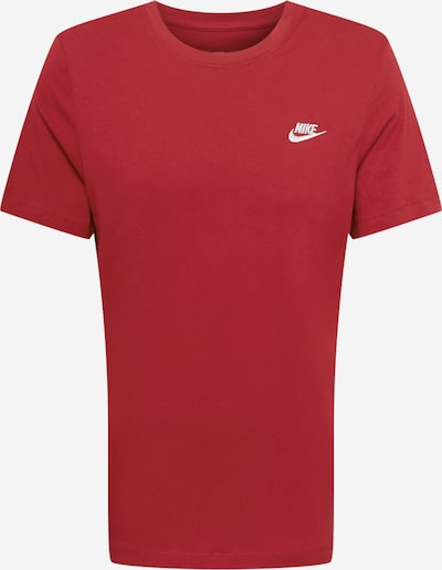Nike Sportswear T-Shirt in Red / White, Item view