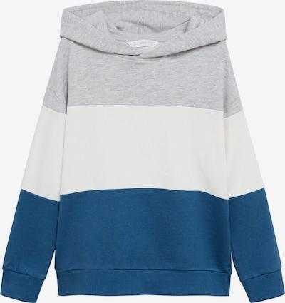 MANGO KIDS Sweatshirt in dunkelblau / graumeliert / weiß, Produktansicht