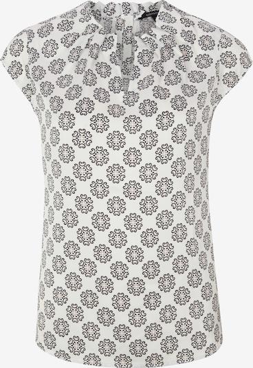 COMMA Bluse in schwarz / weiß, Produktansicht