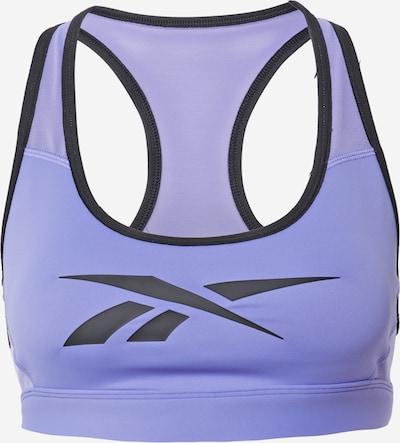 REEBOK Urheilurintaliivit 'Lux Racer' värissä vaaleanvioletti / musta, Tuotenäkymä
