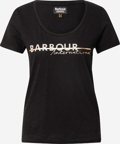 Barbour International Shirt in gold / schwarz, Produktansicht