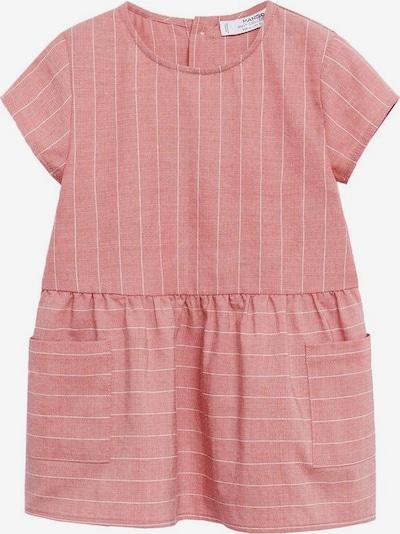 MANGO KIDS Kleid in altrosa / hellpink / weiß, Produktansicht