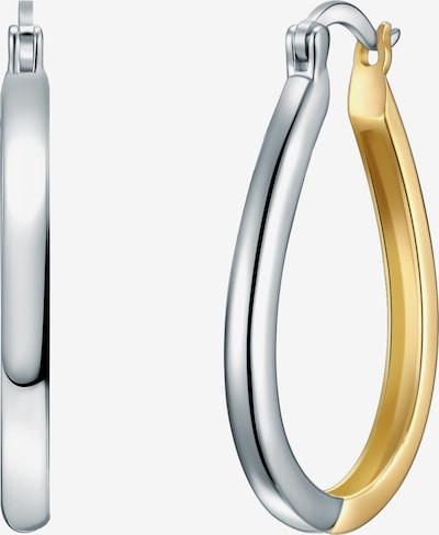 Rafaela Donata Silberohrcreolen Ohrcreolen Sterling Silber rhodiniert / gelbvergoldet in gold / silber, Produktansicht