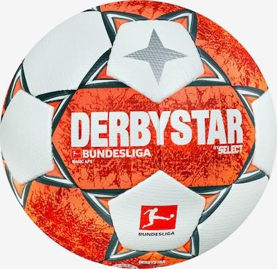 DERBYSTAR Ball in orange / weiß, Produktansicht