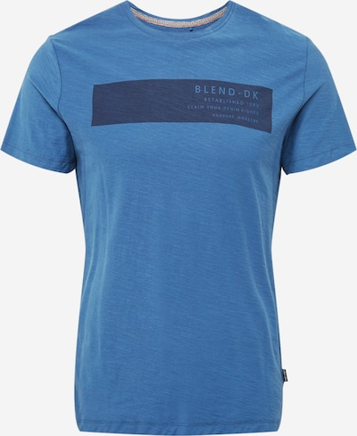 BLEND T-Shirt en bleu / bleu foncé, Vue avec produit