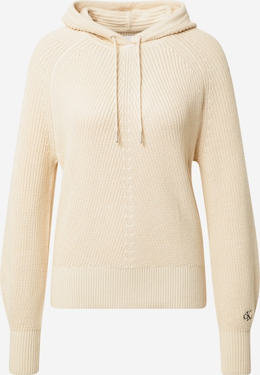 Calvin Klein Jeans Pullover in creme, Produktansicht