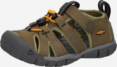 KEEN Sandale in khaki / oliv / orange, Produktansicht