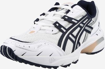 ASICS Sneaker low in dunkelblau / silber / weiß, Produktansicht