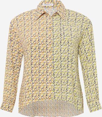 GLAMOROUS CURVE Bluse in Mischfarben