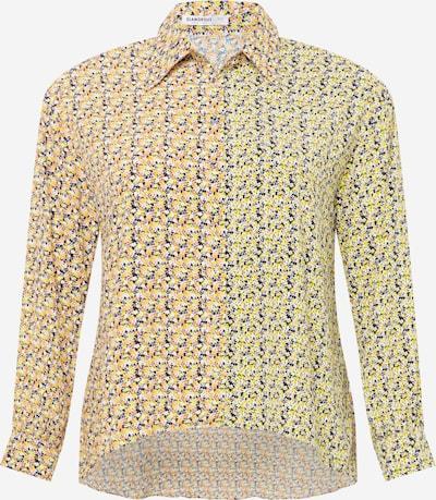 GLAMOROUS CURVE Blusa en amarillo / mezcla de colores / naranja, Vista del producto